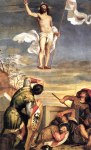 The Resurrection by Titian