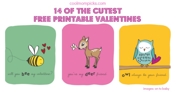 14 printable Valentine\u0027s Day Cards for the classroom - Cool Mom Picks