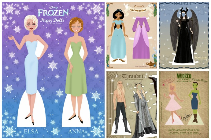 The motherlode of free printable paper dolls