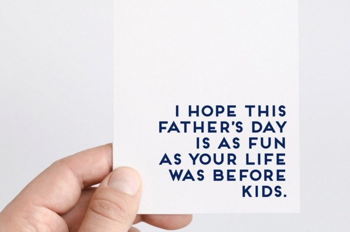 25 hilarious Father\u0027s Day cards without a single reference to - father day cards