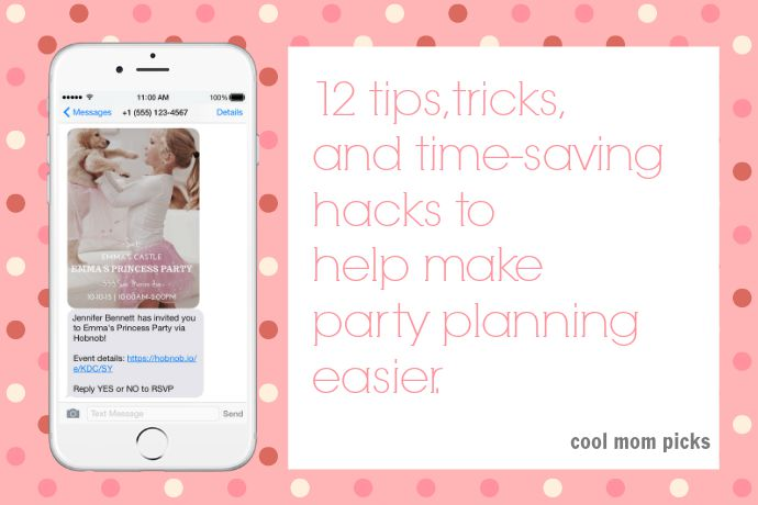 12 easy party planning tips, so you can enjoy the party too - party planning