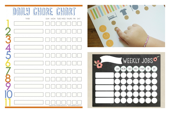 10 cool printable chore charts Cool Mom Picks - sample chore chart