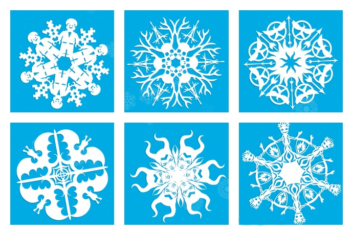 20+ cool snowflake patterns to make with kids Or not