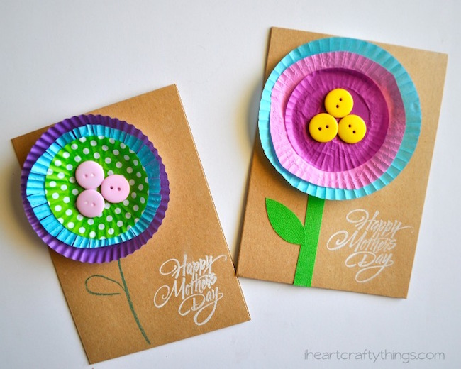 9 easy handmade Mother\u0027s Day cards your kids can make