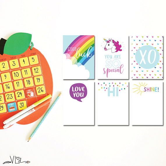 12 motivational back-to-school printables to send kids off with a smile