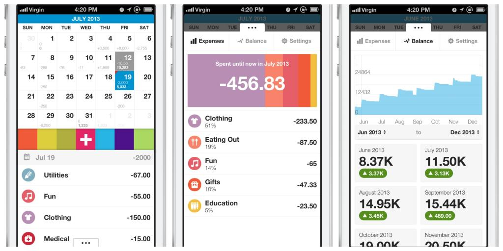 Dollarbird An app to help track daily expenses, and keep your money