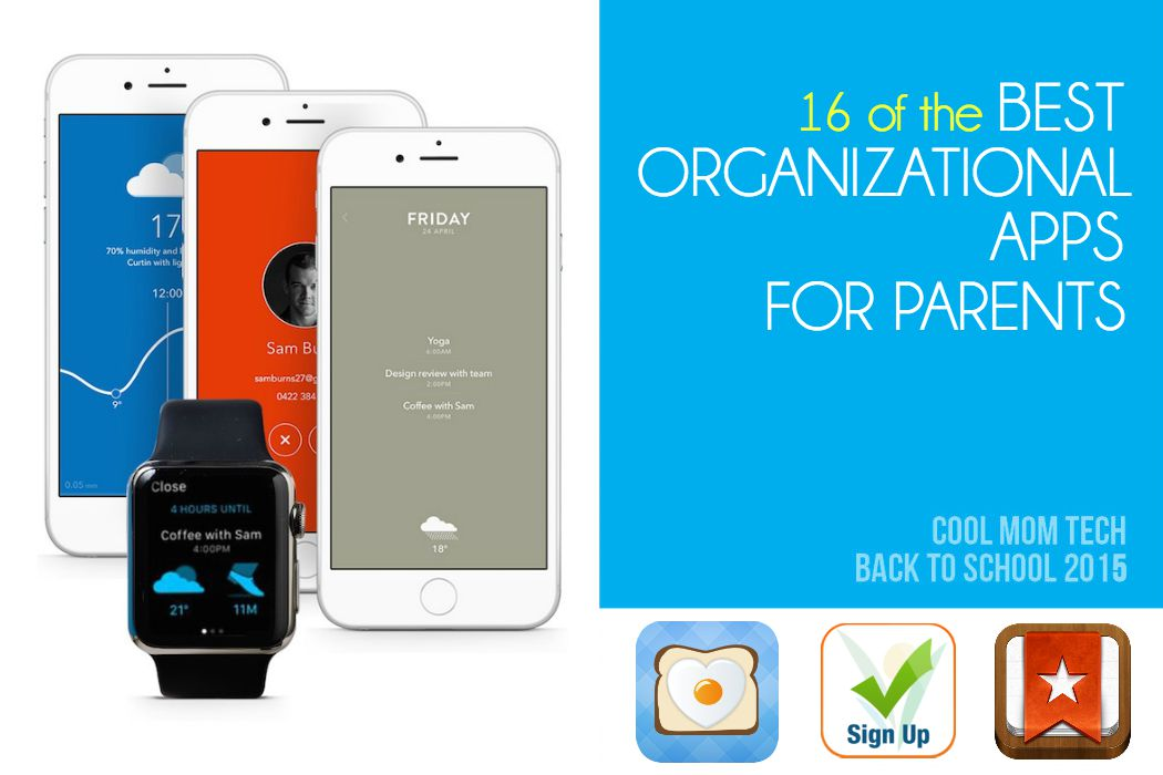 16 best organizational apps for parents Cool Mom Tech