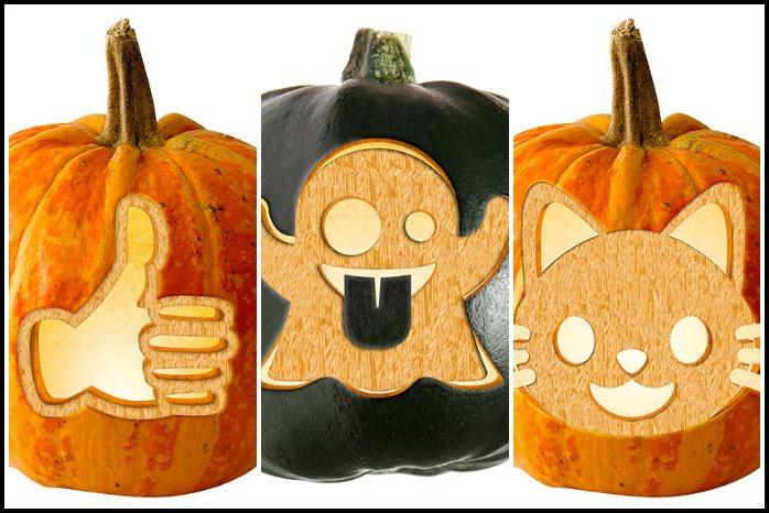 20 free emoji pumpkin carving stencils Cool Mom Tech