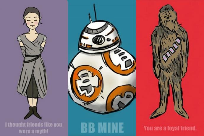 12 of the best geeky-cool printable Valentine\u0027s cards Star Wars