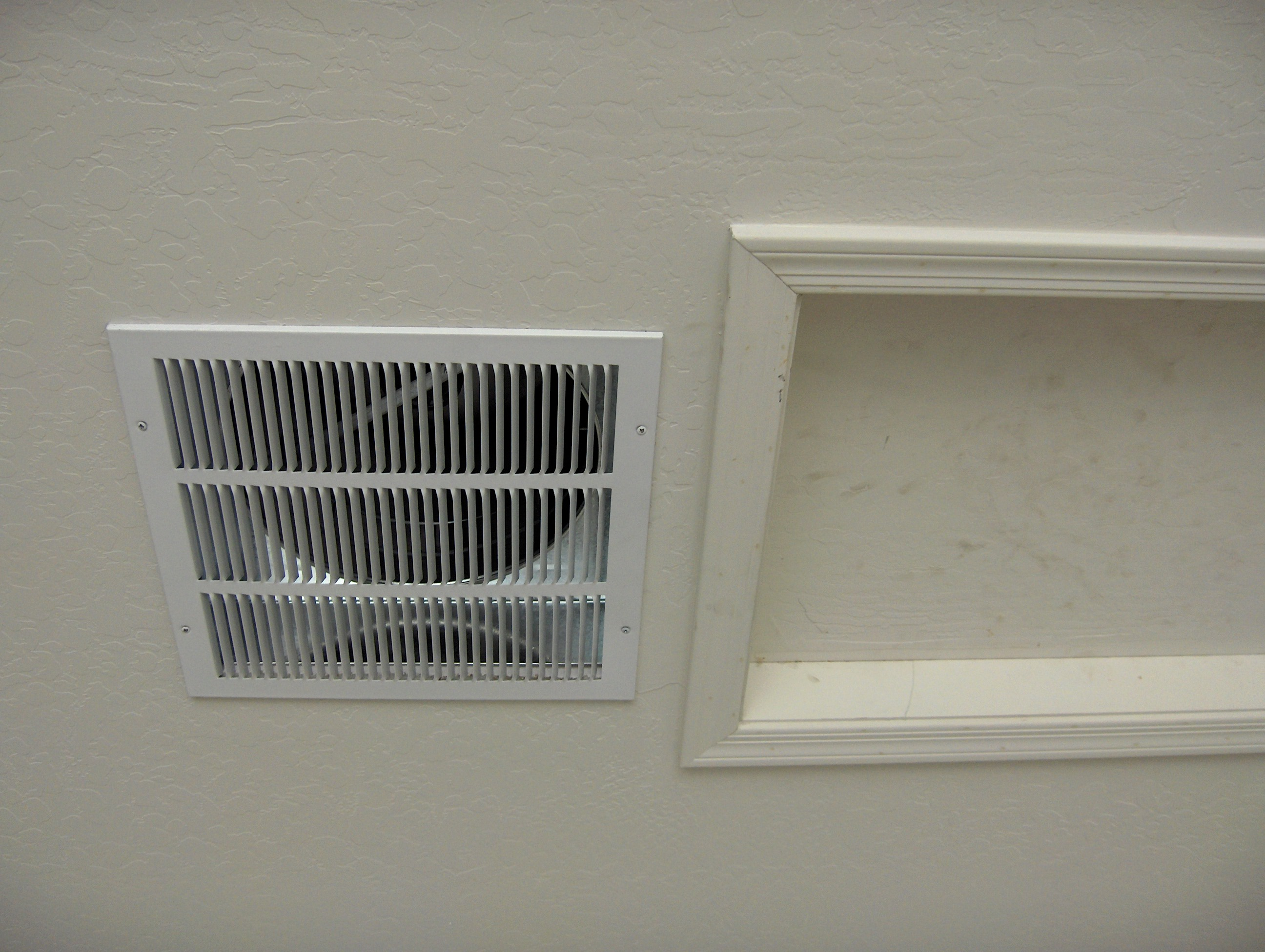 Bathroom Exhaust Fan Into Garage The Gf 14 Garage Fan And Attic Cooler Buy Direct