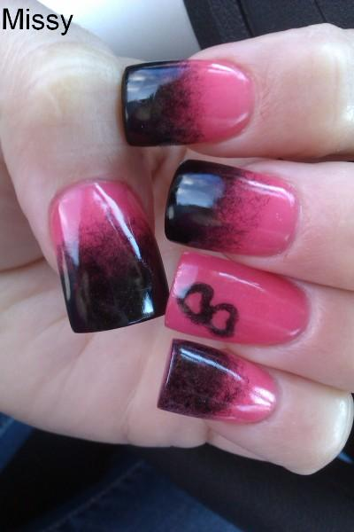A Blend Of Colors Nail Art Nail Art Design From Coolnailsart
