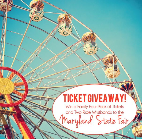 Maryland State Fair Ticket Giveaway