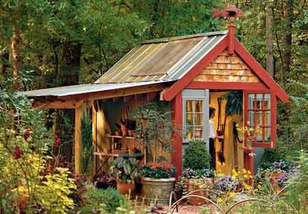 Garden Shed Designs u2013 Top 5 Custom Features to Your Garden Storage - garden shed design