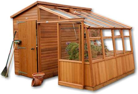 garden shed plans with greenhouse ~ Shed Plans Free
