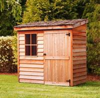 Outdoor Shed  Big Ideas For Small Backyard Destination ...