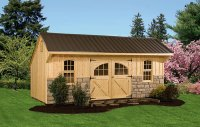 1016 Gable Shed Plans  Affordable Utility Shed Plans For ...