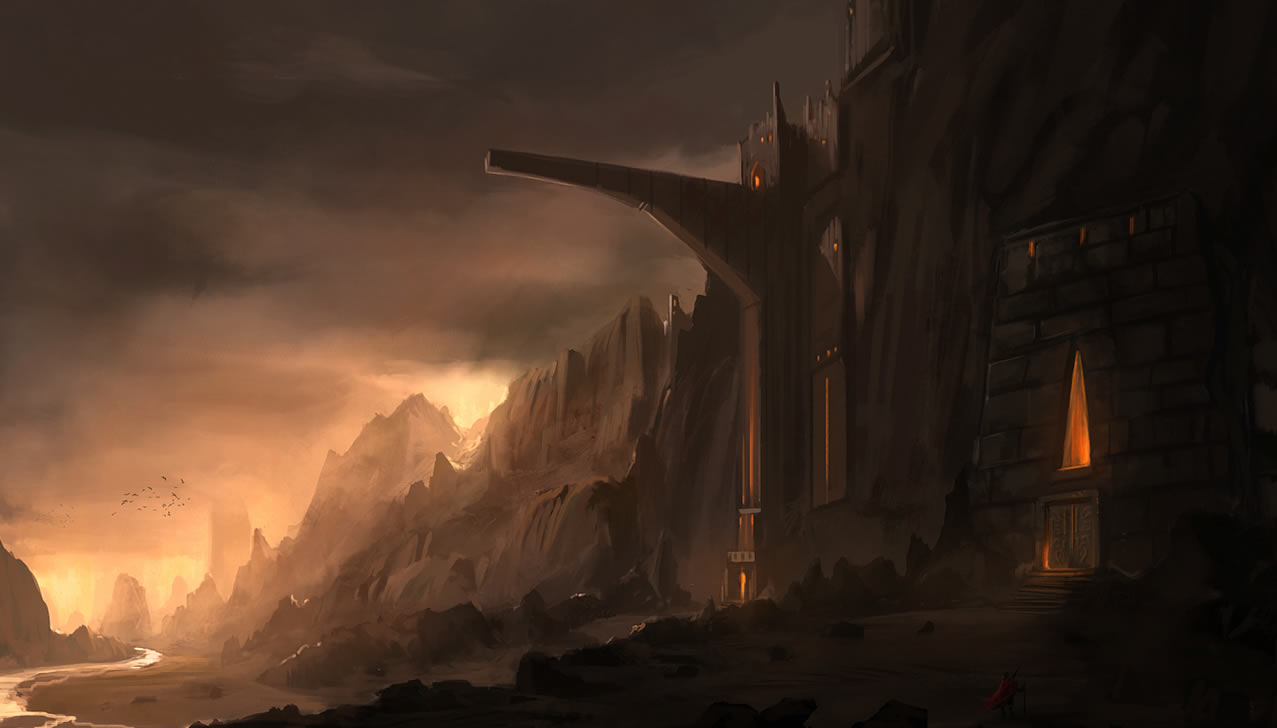Falling Skies Wallpaper 1920x1080 Old Fortress By Blinck Coolvibe Digital Artcoolvibe