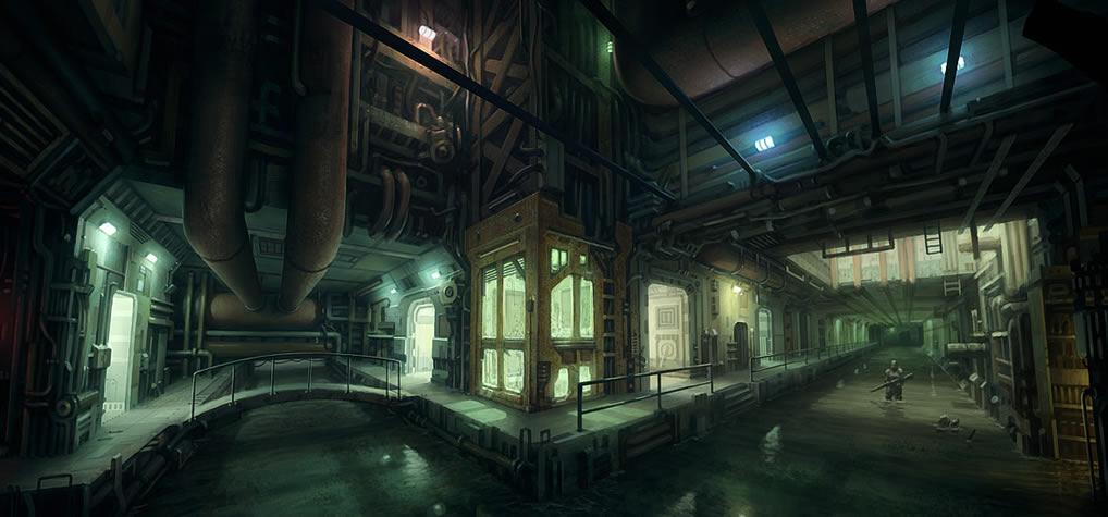 3d Animated Horror Wallpaper Sewer Coolvibe Digital Artcoolvibe Digital Art