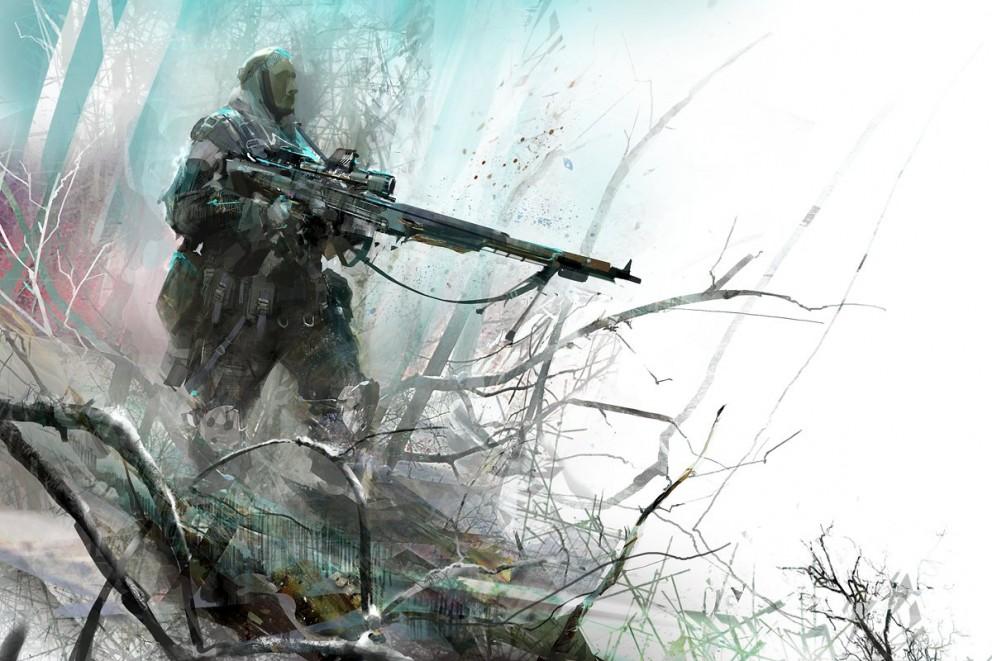 Usa Anime Gun Girl Wallpaper 1920x1080 Guild Wars 2 Commando Concept Art Videogames