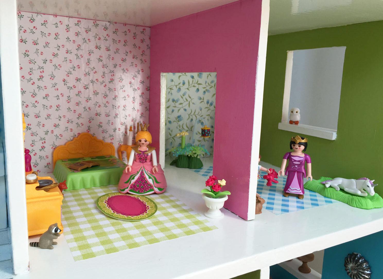 Playmobil Dollhouse Badezimmer | Div Puppenhaus Möbel Einige Lundby ...