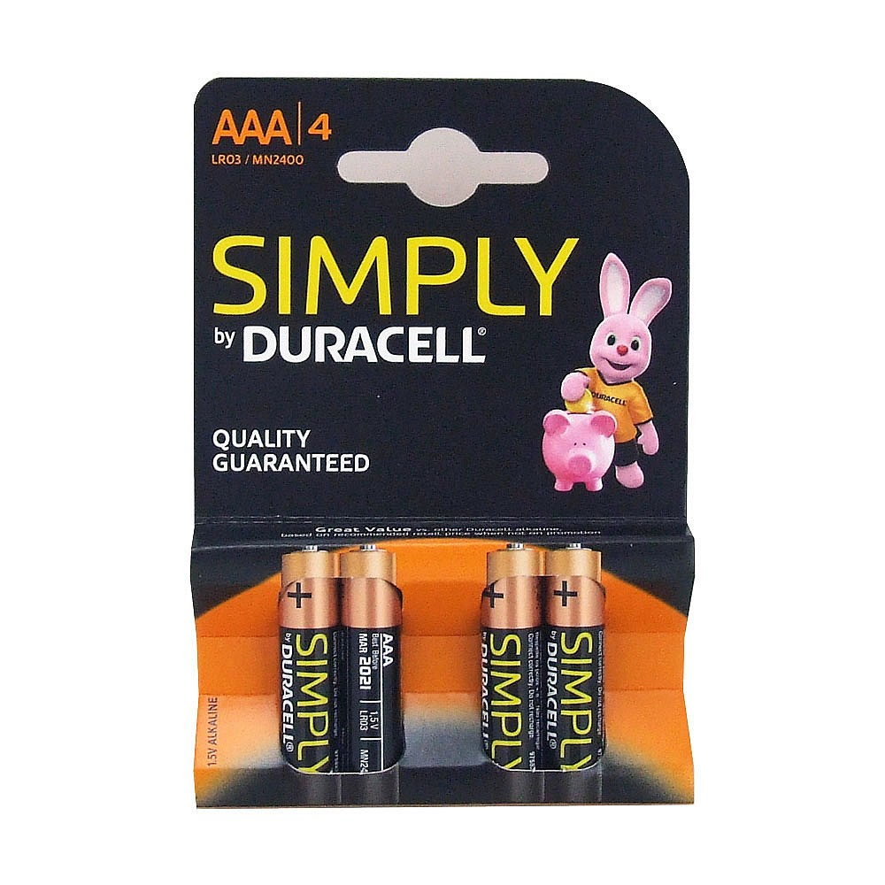 Aaa Baterien Duracell Aaa Batteries Pack Of 4