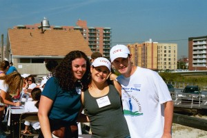 erica and greer and billy at cope walk