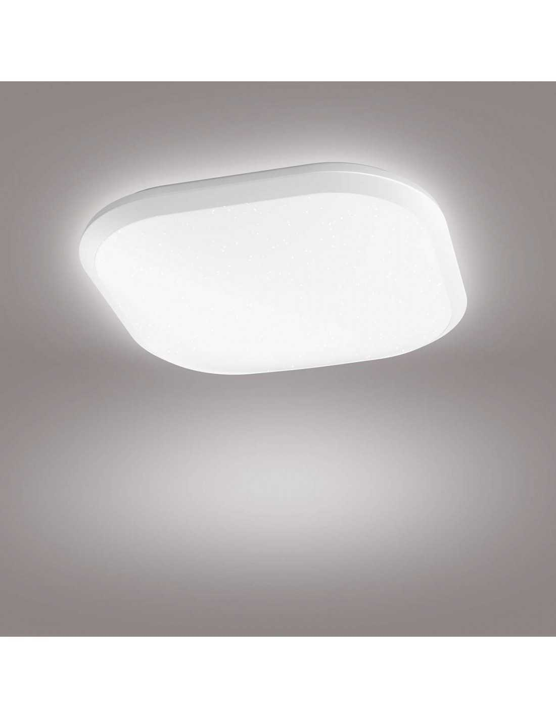 Led Luce Naturale Plafoniera Led Dimmerabile Quadrata 18w Philips Cavanal