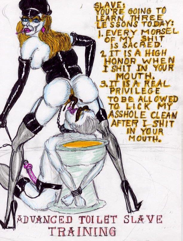 femdom scat cartoon