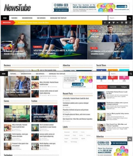 Blogger Templates 2019 Free Download【Blogger Themes】
