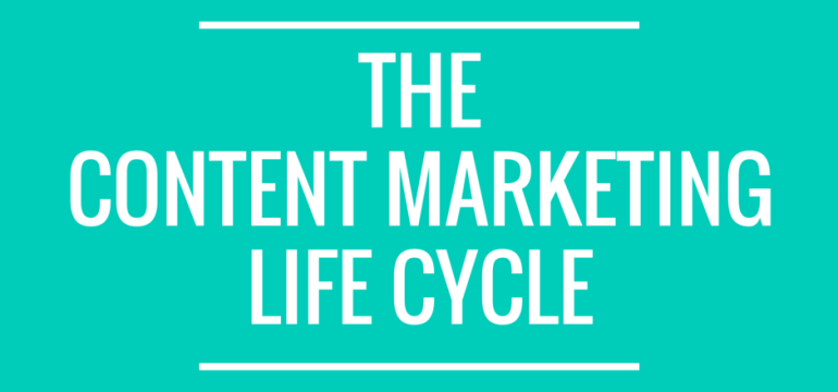 The Content Marketing Life Cycle Featured Image