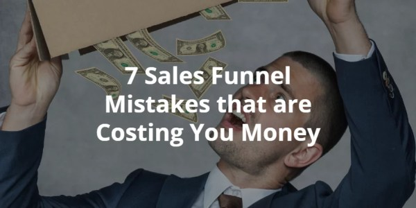 spruce it - sales funnel mistakes