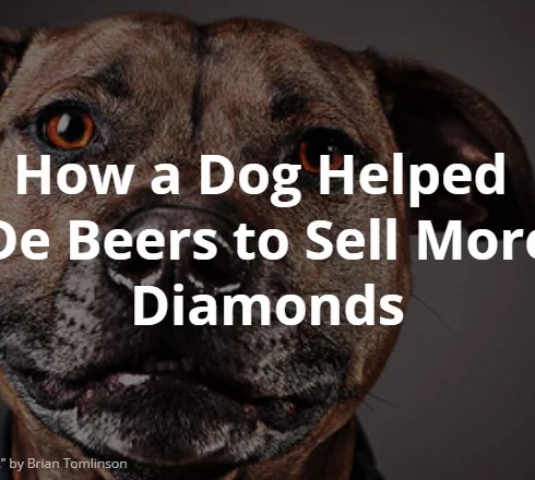 dog and de Beers