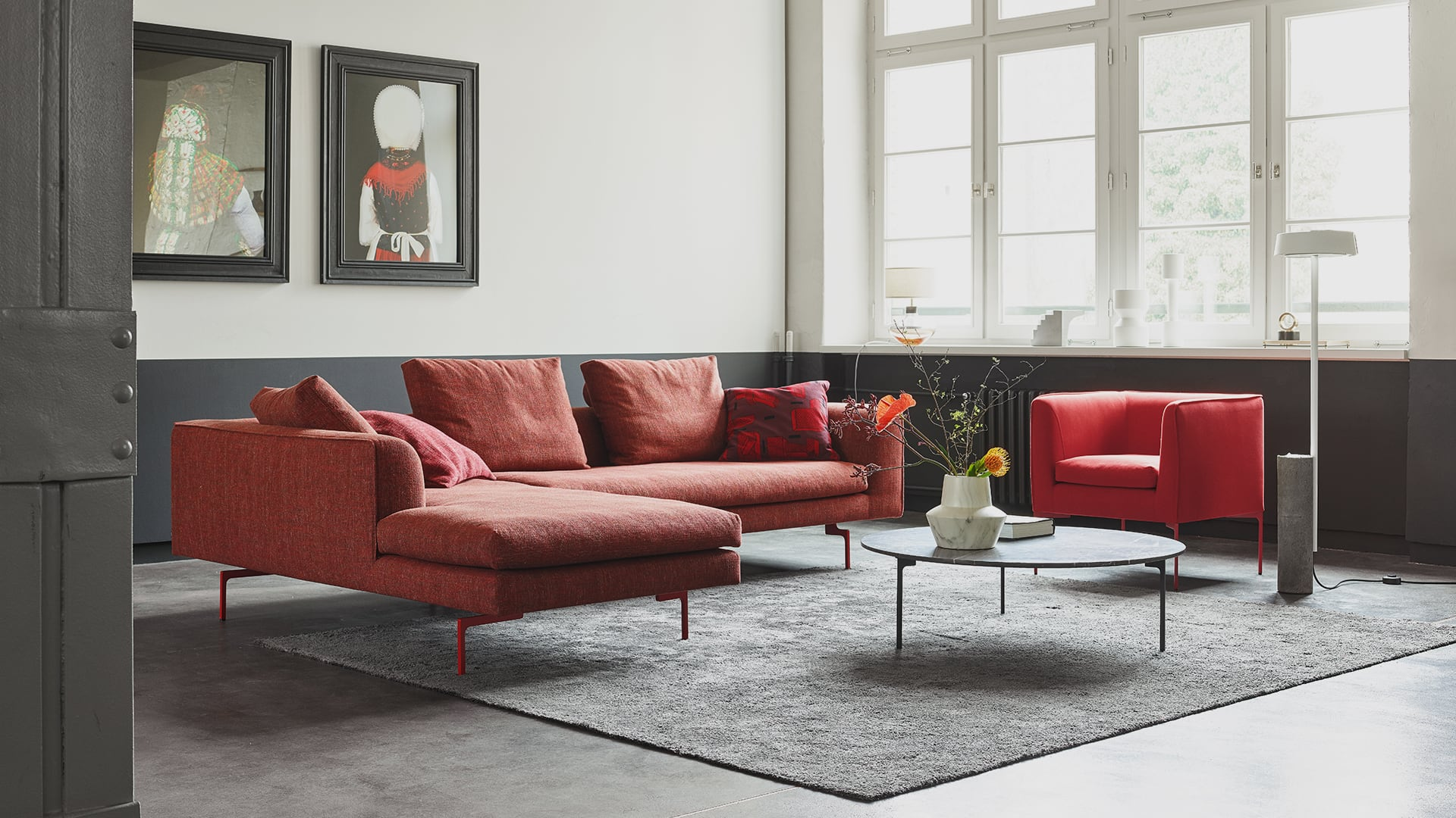 Couches Und Sofas Mell Lounge Sofa Cor