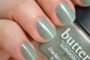 Butter London Two Fingered Salute Swatch