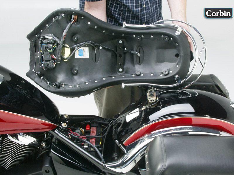 Corbin Motorcycle Seats  Accessories Kawasaki Vulcan 900 Classic