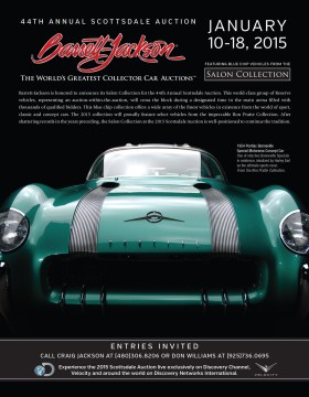 Barrett-Jackson Advertisement for The Quail