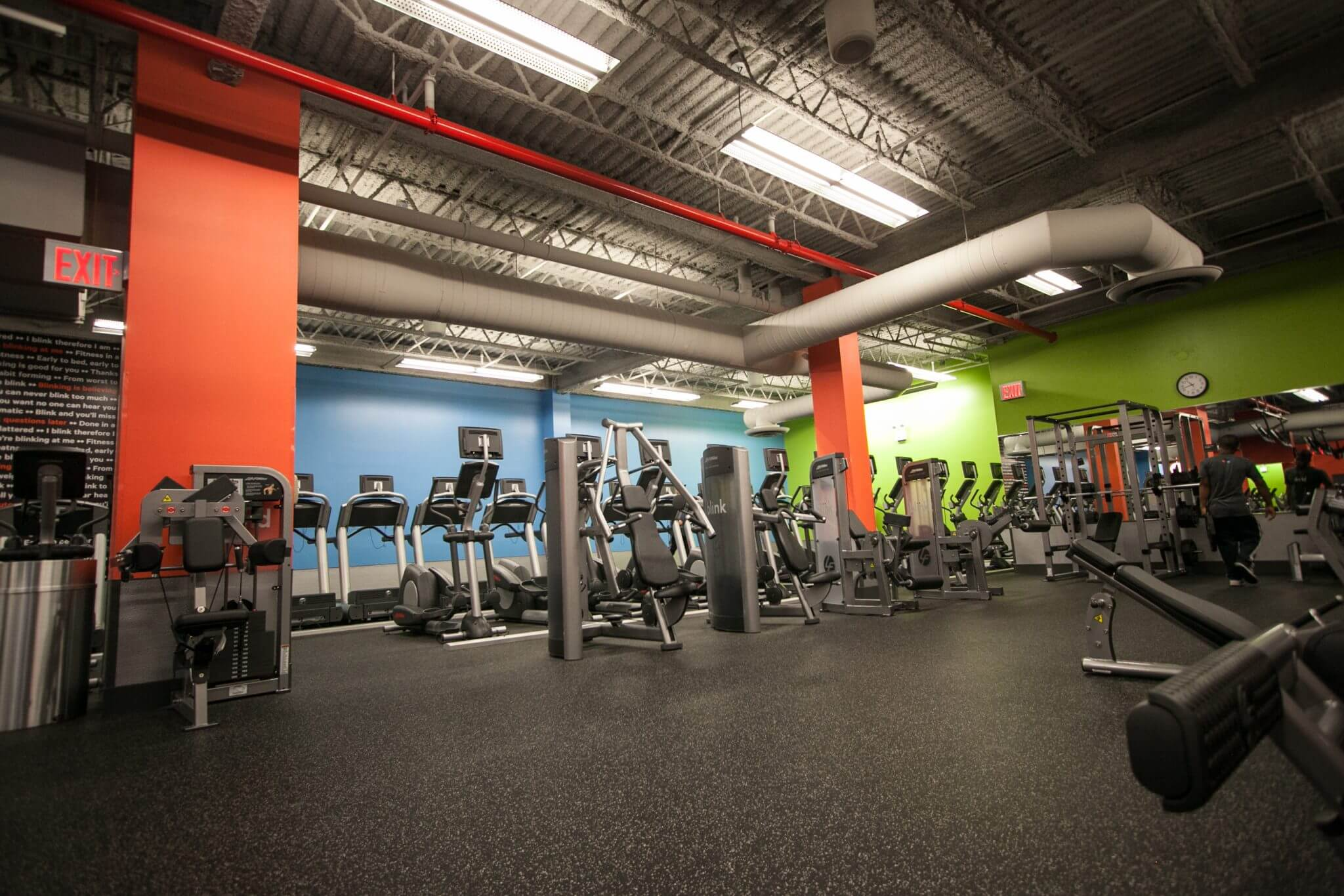 the newest blink fitness is in an old brooklyn bathhouse
