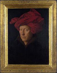 Portrait_of_a_Man_in_a_Turban_(Jan_van_Eyck)_with_frame
