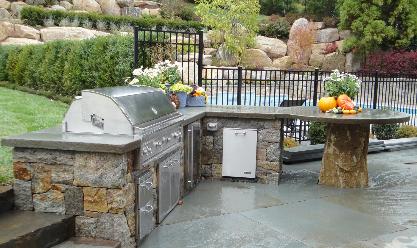 Outdoor Küche Pool Outdoor Kitchens Cording Landscape Design