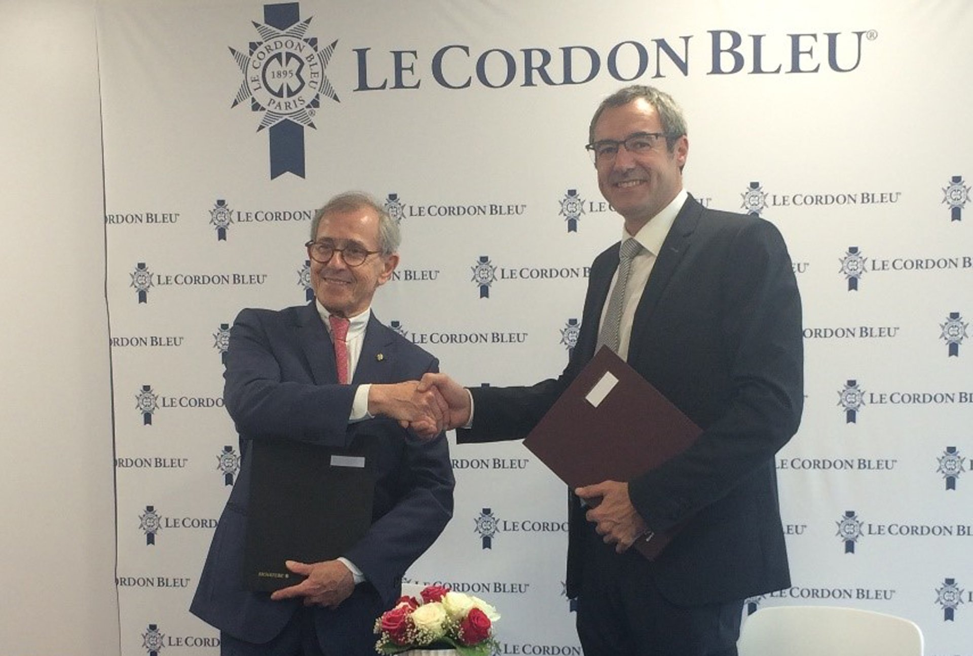 Bv Reims Le Cordon Bleu Signs A Partnership Agreement With The University