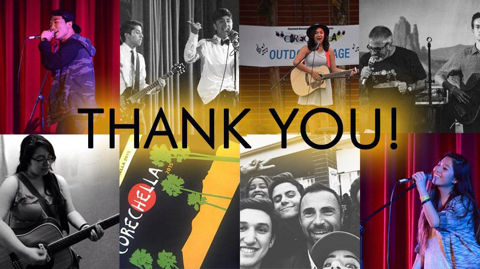 corechella 2015 thank you