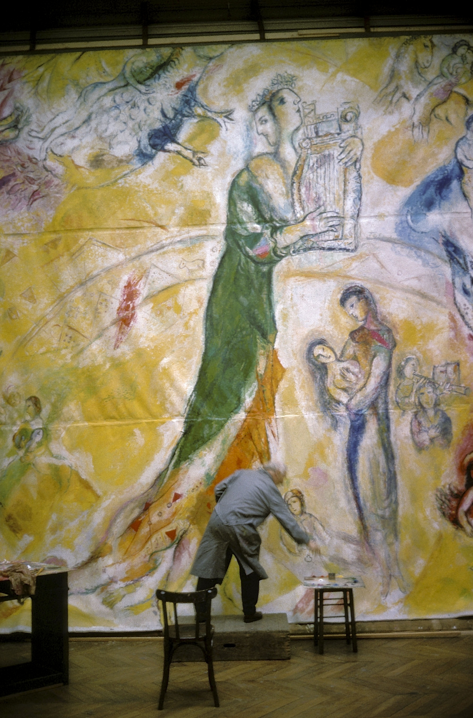 Revealed by sofitel comes to china a photo exhibition for Chagall tableau