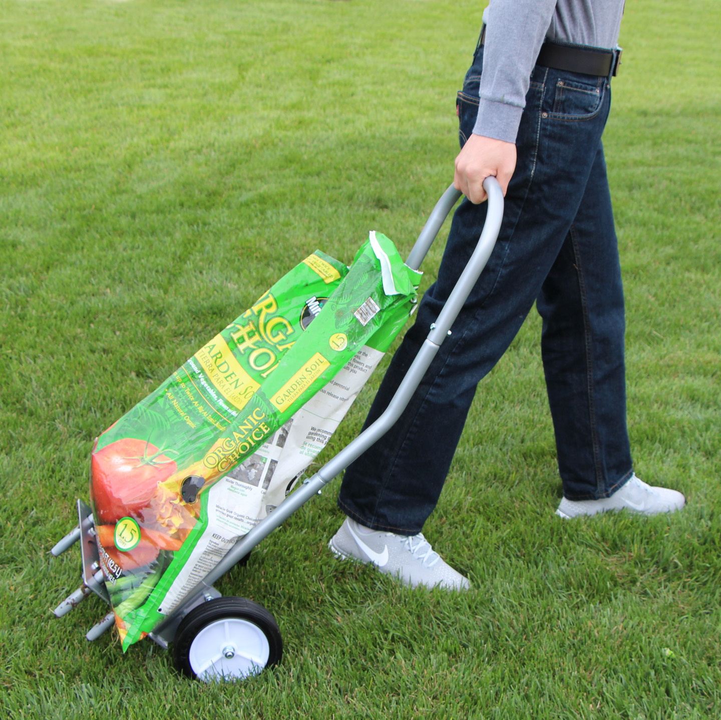 Grass Aerator Step N Tilt Core Lawn Aerator 2 The Easy Way To Core Aerate