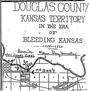 Connelley Douglas County Map