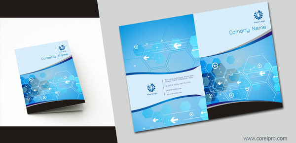 1 page brochure template