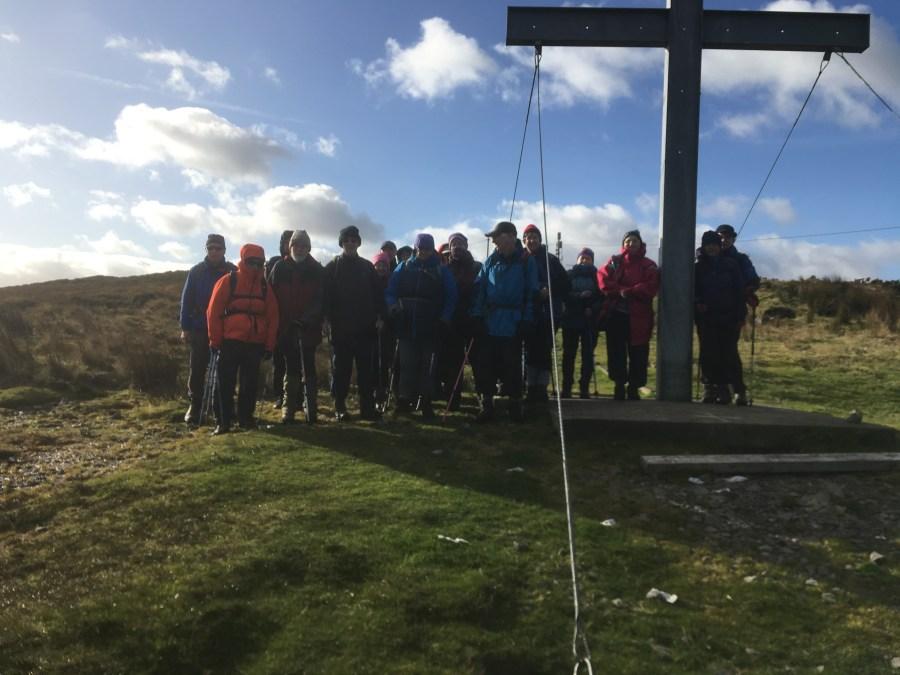 Tom Desmond's Clara Mountain Walk Main Group 12th Nov 2018