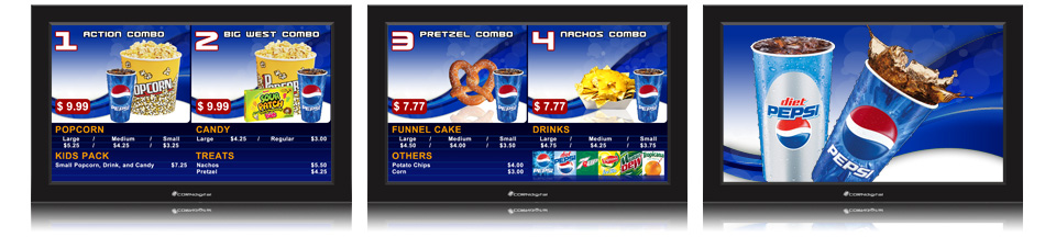 Digital Poster Corndigital | Digital Menu Board Templates