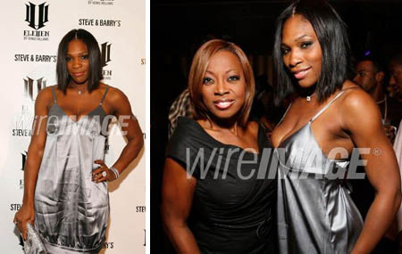 serena williams - eleven launch party - tenjune - starr jones