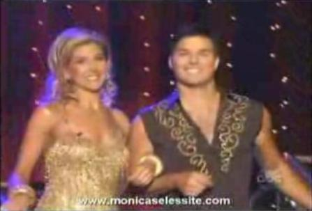 Monica Seles - Dancing with the Stars elimination