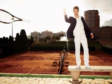 Novak Djokovic - Men's Vogue - April 2008